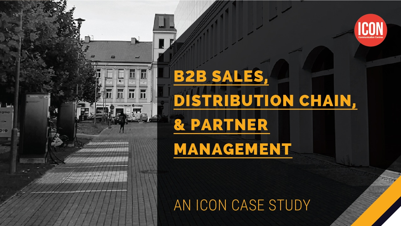 B2B Sales, Distribution Chain, & Partner Management