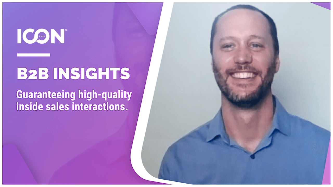 Guaranteeing High-Quality Inside Sales Interactions