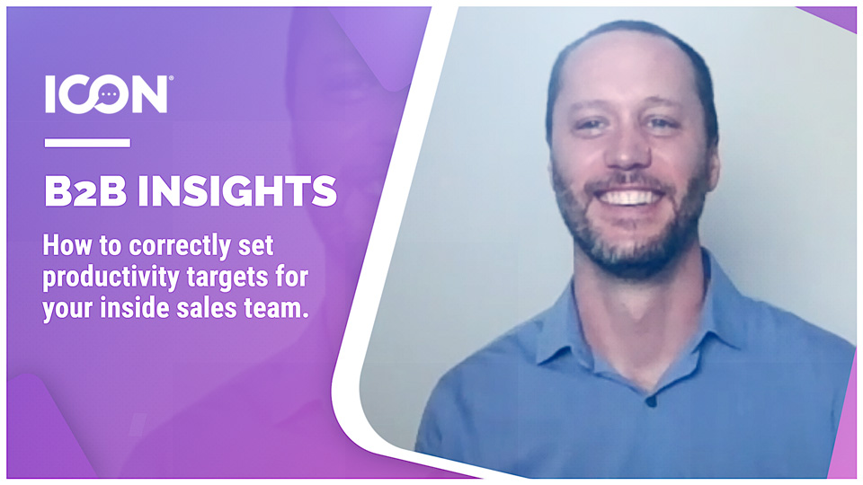 How To Correctly Set Productivity Targets For Your Inside Sales Team